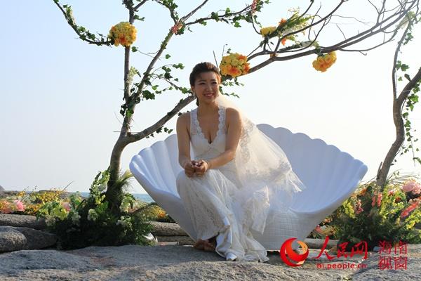小洞大天山三亚海蝶恋攻略秀亮相合金装备+3婚礼图片