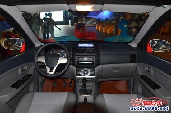 昌河福瑞达M50海南上市 4.78万起高清图片