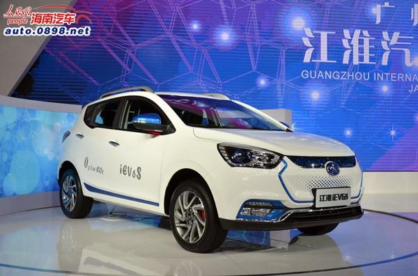 【国内首款纯电动SUV车型,江淮iEV6S正式亮相】-2015广州车展 江高清图片