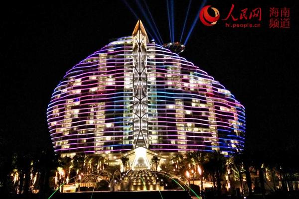 中国第一家七星级酒店——海棠湾红树林度假酒店在三亚市海棠区揭开