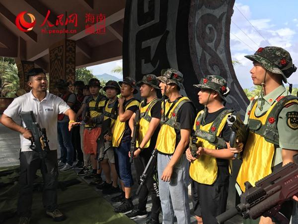 海南海警二支队组织开展主题户外拓展活动--人