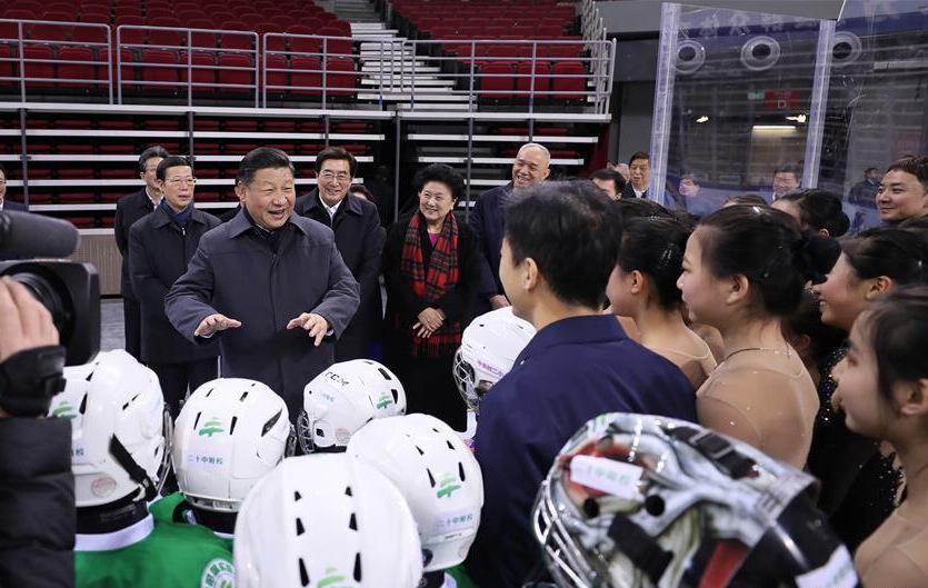 习近平在北京考察