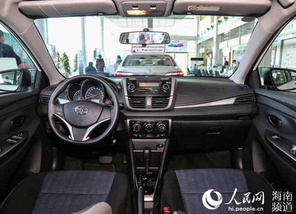 一汽丰田威驰FS登陆海口 6.98万 10.98万元高清图片