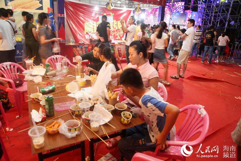 美味:定安端午美食节校区旺美食爆表--人民网人气西南北碚高清大学图片