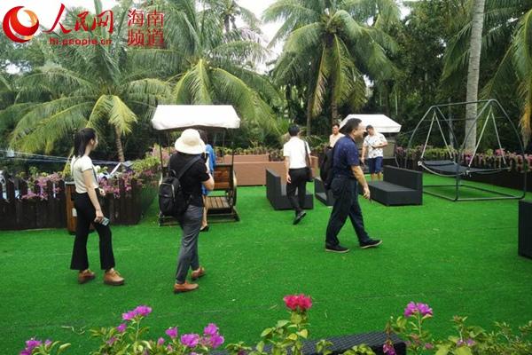 三亚市第二期全域旅游民宿培训班将课堂搬到民宿。