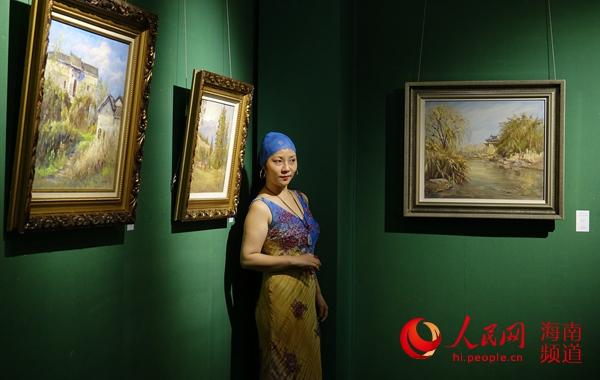 吴天奇风景油画展