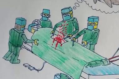 80后医生手绘漫画讲述暖心工作常态        <a href=