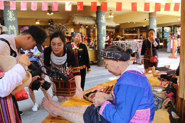 旅游卫视《文明中华行》取景安徽谷槟榔实体情趣丝袜合肥市店图片