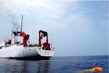 """""""大洋一号""""船完成综合海试任务3日抵达青岛"""