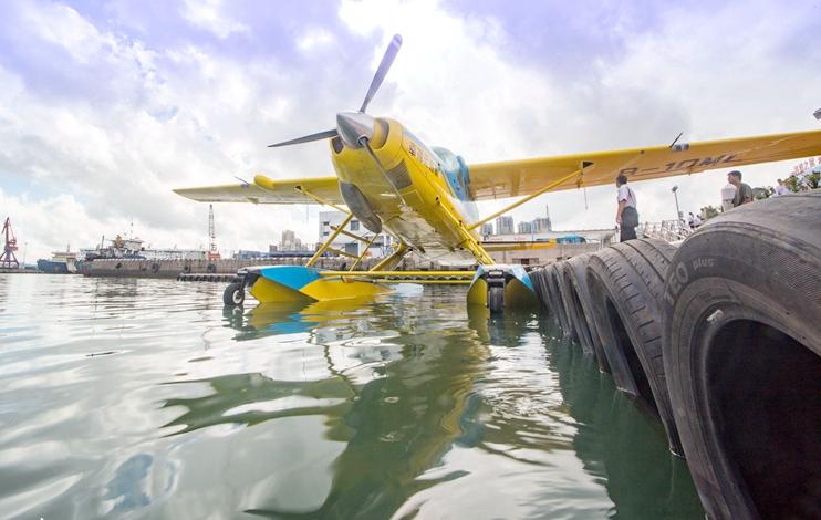 海口水上飞机空中游览航线开通