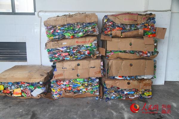 """三沙:垃圾自产自""""消"""" 为岛礁环保加注绿色动能"""