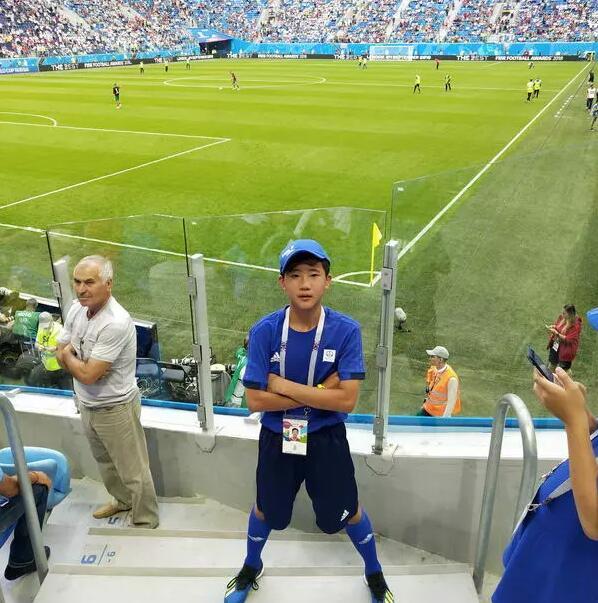 为他骄傲!世界杯历史首位海南球童亮相赛场!
