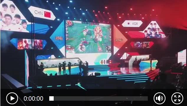 【组图】中国队3比1击败韩国 获亚运电竞英雄