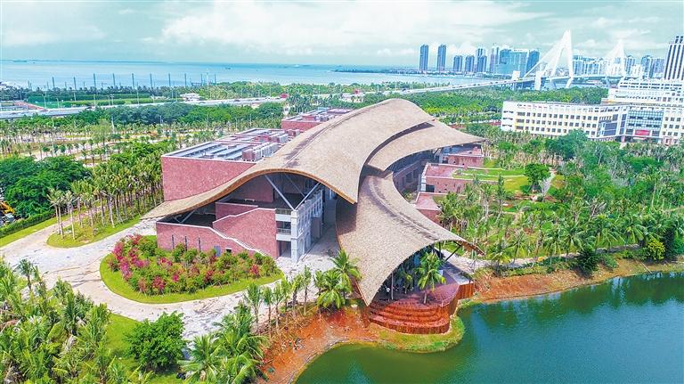 海口市民游客中心基本完工 将为市民及游客提供服务