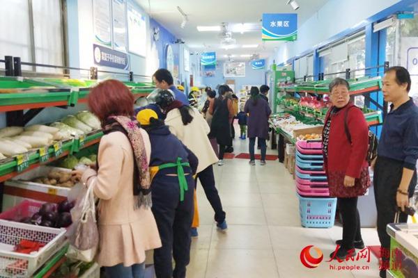冷空气来袭!海口菜篮子调运400吨蔬菜保供稳价