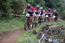 火山自行车文化节山地赛激情开赛