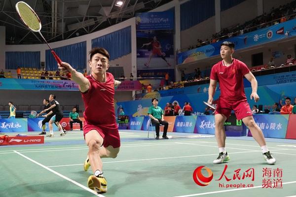 2019中国(陵水)国际羽毛球大师赛首日44进17精彩拼杀