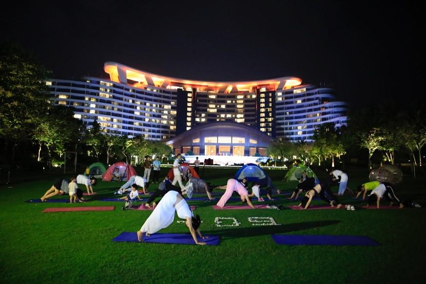 地球一小时三亚天房洲际度假酒店60+活动助力环保