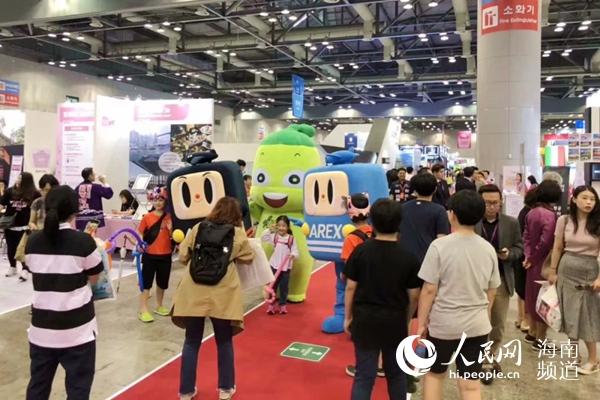 海南旅游精彩亮相2019年哈拿多乐国际旅游博览会