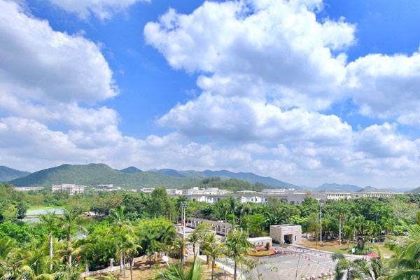 三亚学院校园景色