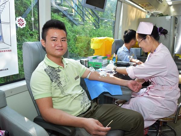 三亚亚龙湾热带天堂景区员工介入无偿献血勾当