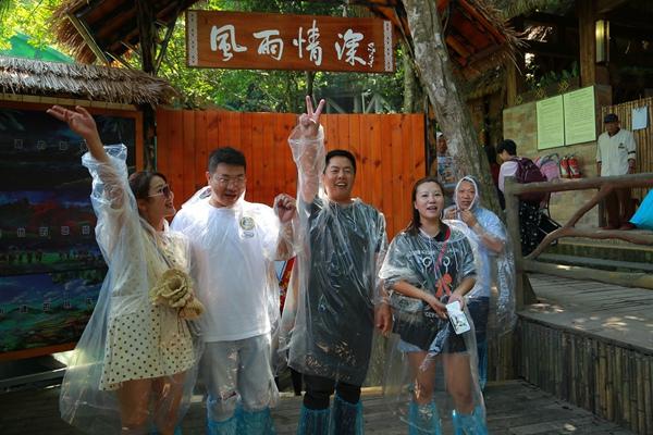 槟榔谷推出超感5D沉浸式海岛台风体验馆《风雨情深》