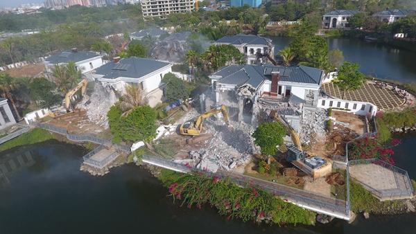 海口市持续推进整治违法建筑和违法用地