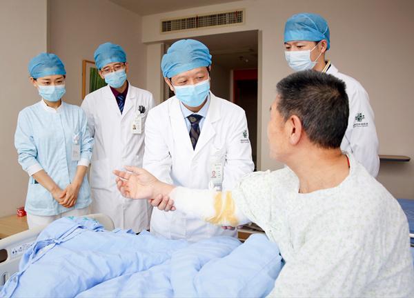 患者辗转来琼求医海南省肿瘤医院成功实施保肢手术