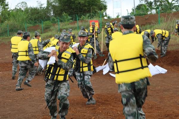 海南水务厅组织山洪灾害防御暨应急抢险演练