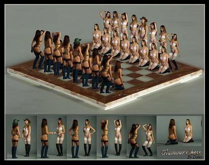 国际象棋美女v美女赤裸1棋子骚性感不是背景皮肤qq竟作活人真人秀图片
