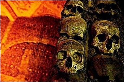 中世纪的欧洲,由于黑死病、瘟疫猖獗和战争爆发,大量尸骨在当时