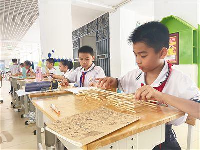 三亚九小举办博创节 培养学生科技兴趣